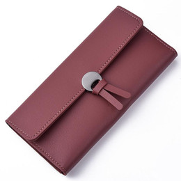 Wholesale Patent Leather Handbags Wholesale - New Cute Women Leather Wallet Fashion Handbag Exquisite Gift for lovely Girls High Quality Leisure Clutch Bag Long Purse *67