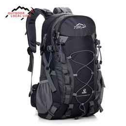 red lion sports Coupons - LOCAL LION Outdoor Sports Bag 40L Mountaineering Backpack Functional Men Women Bag Bolsas Femininas Hiking traveling