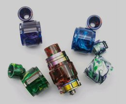Wholesale Baby Wholesale Supplier - replacement resin tube +drip tip for tfv12 tfv8 baby tfv8 x baby tfv8 big baby 2018 hot trending e cigarette accessories china supplier