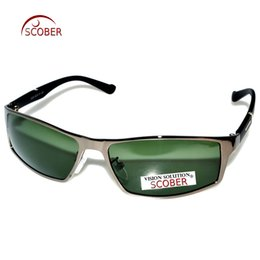 Wholesale prescription polarized lenses - = SCOBER = TR90 Temple Designers Polarized Sunglasses Gray Brown Blue Lens Custom Made Nearsighted Minus Prescription -1 to -6