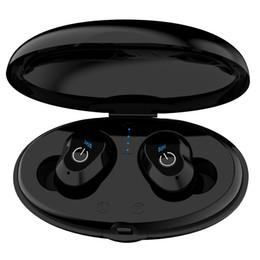 Canada WA02 Business Bluetooth Écouteurs Sans Fil 3D Hifi Stéréo Écouteurs Casque Casque et Power Bank Avec Microphone Appels Mains Libres Offre