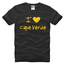 059f393ee3 wishcart I Love Heart Cape Verde Letter Printed Mens Men T Shirt Tshirt  2016 Short Sleeve O Neck Casual T-shirt Tee Camisetas Hombre