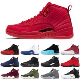 lowest price ec418 eb135 real nike Rabatt Nike Air Jordan Retro 12 12s Herren Basketballschuhe GYM  Rot CLASS OF 2003