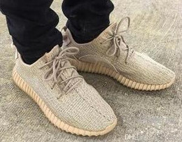 Wholesale Copper Tables - 2017 New With Box Kanye West Boost SPLY 350 Semi Frozen Yellow Beluga Zebra Cream White Copper 350 Running Shoes V1 Outdoor Shoes