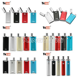 Wholesale Plastic Capping - 100% Authentic Yocan Wax&Oil Vaporizer Yocan Hive 2.0 Yocan Flick Cap 2 in 1 650mAh Box Mod Vaporizer Cartridge Genuine