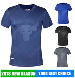 Wholesale Street Style Clothing - HOT UA jogging clothes Running Style Man shirts Sweatshirts NEW Hip Hop Sport Fashion TOP SALE shirt jersey vest street summer Gym fitnes