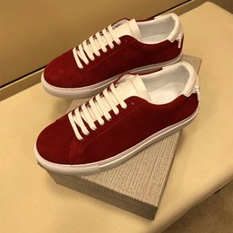 Wholesale types shoes man - 2018 new type of luxury luxury luxury brands, high quality men's fashion, leisure and comfort sports shoes 38~44