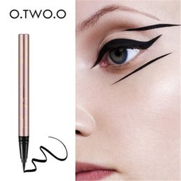 SexeMara 1 Pc Eyeliner Facile da indossare Cat Style Black Long-lasting Waterproof Natural Eyeliner Pen Pencil Trucco Strumento cosmetico da
