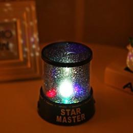 Argentina Cosmos Proyector Romántico Colorido Maestro Estrella Cielo Noche Luz Niño Increíble Lámpara de Proyector Universal Regalo de Navidad Regalo YFA384 Suministro
