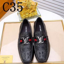 s m мужчина Скидка Итальянские мужские повседневные ботинки Летние неподдельные кожаные мужчины Loafers Moccasins Slip On Men's Flats Breathable Male Driving Shoes