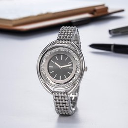 fashion crystal butterfly Promo Codes - Crystal Inside Fashion Women Best Dress Watch High Quality Swan Casual Quartz Movement Gift Time Clock Watch