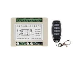 Télécommande 4ch rf en Ligne-AC 220V 10A Relais 4CH 4 CH Télécommande sans fil RF Transmetteur Récepteur Récepteur 433 MHz