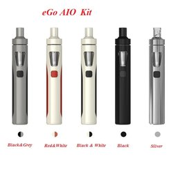 Wholesale joy color - Joy eGo AIO Quick Start Kits 1500mAh battery 2.0ml Childproof Tank Lock All-in-one style Devic 5 color for choose DHL