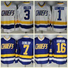 e48bfcfe1 2018 Hot Sale Charlestown Chiefs 1 Denis Lemieux 7 Reggie Dunlop 16 Jack  Hanson 18 Jeff Hanson 17 Steve Hanson Stitched Hockey Jersey on sale