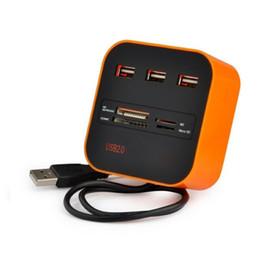 оранжевые таблетки Скидка 3 высокоскоростной порт USB HUB 2.0 USB Splitter адаптер для ноутбука/планшетного компьютера ПК периферийные устройства аксессуары оранжевый