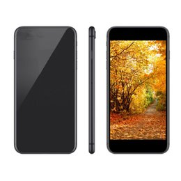 Wholesale Digital Plus - Goophone 8 plus Quad Core MTK6580 1G  4G 5MP 3G WCDMA Andriod Unlocked phone show Fake 4G Lte with Sealed Box