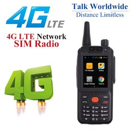 intercomunicador androide Rebajas Anysecu 4G LTE Android Walkie Talkie Original F25 Teléfono móvil Radio Intercom Network Rugged Smart phone Zello REAL PTT radio