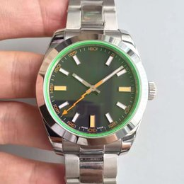 Wholesale Geneva Classic Watch - Classic luxury watches 40MM sapphire mirror high quality mechanical movement 316L stainless steel strap original folding buckle Geneva impri