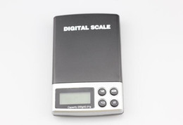 Wholesale Digital Scales Wholesale - 200g x 0.01g DIGITAL Scales Gram pocket Balance Weighing Scale A06 blue backlight kare 400pcs