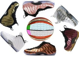 Wholesale new high technology - New Mens Pennyhardaway Basketball Shoes Sneaker Classic Foam technology Shoes with high qualtiy factory free shippings