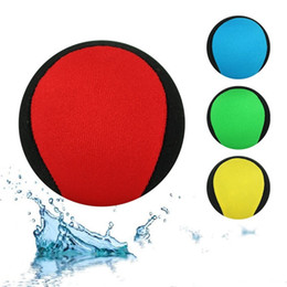 Wholesale Bamboo Dragonfly - Bouncing Ball On Water Game Kid Adult Toys Multi Color Beach Balls Swimming Pool Toy 7 98hy C R