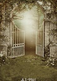 Фэнтезийные тканевые фоны онлайн-ностальгические фантазии фотографии фонов лес партии портрет двери пастбища забор фото фон виниловая ткань для фотостудии