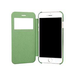 2019 caixa de telefone de silicone de polegada universal Carteira Universal PU Flip Leather Phone Case Capa Shell Para Apple iPhone 6 Casos de 4,7 polegadas caixa de telefone de silicone de polegada universal barato