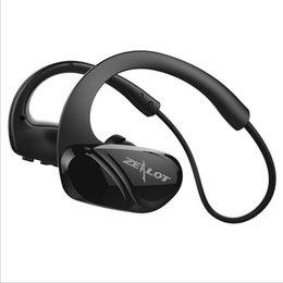 H3 bluetooth online-ZEALOT H6 H3 Deportes Auriculares Bluetooth Estéreo Bass Auricular inalámbrico con micrófono para teléfono inteligente Auriculares Auriculares para correr
