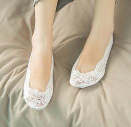 2018 nouvelle mode dentelle mariage chaussettes de mariée chaussures chaussures de danse de haute qualité pour l'activité de mariage chaussettes chaussures de mariée pas cher femmes maison chaussette ? partir de fabricateur