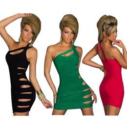 2019 vestido naranja vendaje amarillo Las mujeres de moda bodycon delgado vestidos atractivos del partido de noche del club nocturno ahuecan hacia fuera el vestido para la ropa de las mujeres DH-068