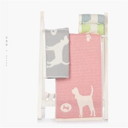 Wholesale yarn dogs - 1PC 34*75cm Japanese-style Face Towel Cotton Yarn Water-Absorption SPA Hair Towel Quick-Dry Hair Shower Towels Jacquard Dog soft
