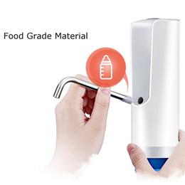 di alta qualità senza fili ricaricabile distributore automatico di acqua elettrica bottiglia di acqua potabile interruttore strumenti di drinkware da