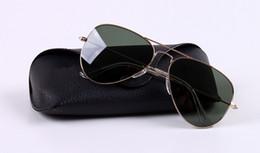 Защита приводов онлайн-2018 новых Высокое качество дизайнер Мода мужчин вождения Солнцезащитные очки 100% УФ-защиты gafas Сплав солнцезащитные очки Очки Очки для мужчин