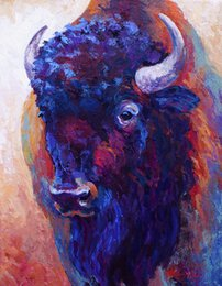 Pintura a óleo cavalo animal on-line-YOUME ARTE Animal Giclee o desejo de fundir thunder-horse artes da pintura a óleo e arte da decoração da parede da lona Pintura A Óleo sobre Tela 60X76 cm