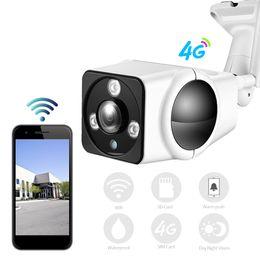 Caméra carte sans fil wifi sans fil de 3g en Ligne-Full HD 1080P Caméra IP sans fil GSM 3G 4G Carte SIM Caméra IP Wifi Extérieure Etanche CCTV IR Vision Nocturne P2P