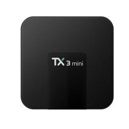 linux медиа-окно Скидка 2018 Новый S905W встроенный мини-телевизор коробка 2 ГБ 16 ГБ TX3 четырехъядерный Android 7.1 потокового ТВ коробки TX3-мини лучше Уди ТВ приставка Android