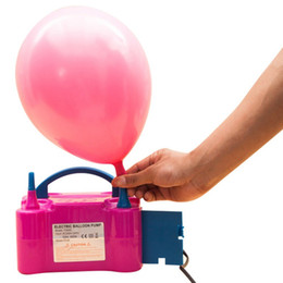 Compresseur portatif électrique de ventilateur de pompe à air de pompe électrique gonflable de pompe à ballon électrique à CA de double trou ? partir de fabricateur