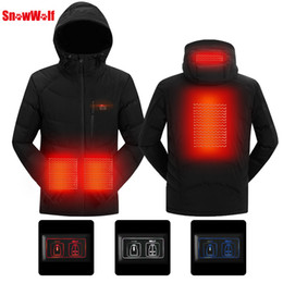 The Arctic Light Winter Outdoor Usb Infrared Heating Jacket Men Women Hiking Electric Thermal Sports Climbing Hunting Coat Sports & Entertainment
