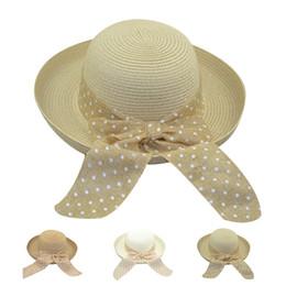 cappello da sole pieghevole delle donne Sconti 2018 Summer Fashion Cappelli  da spiaggia da donna Caps f113ed4aeb33