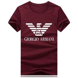 nouvelle chemise classique homme Promotion En gros, plus la taille New Luxury Classic marque col rond T-shirt Street Run polo shirt à manches courtes hommes Designer mens t shirts