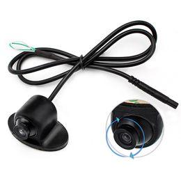 Wholesale Car Front Camera Monitor - MiNi 360 Degree Rotation HD CCD Parking Assistance Camera Front   Side   Rear View Camera For Car DVD Monitor Reversing Backup Camera