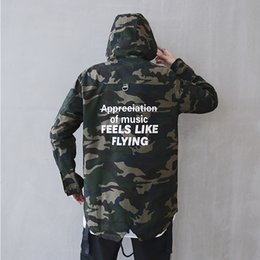 Wholesale Music Suppliers - Dropshipping Suppliers Usa Dragon camouflage Jacket Hip Hop Of Music Feels Like Flying Jacket Camoufla Coata Us size S-XL