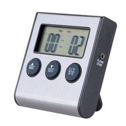 Termómetro de cocina digital con temporizador de sonda Temporizador y función de alarma 0-250 centígrados / 32-482 Fahrenheit Herramientas de cocina desde fabricantes