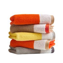 Wholesale Cartoon Babies Numbers - 27*50cm Cotton Towel Jacquard Baby Washcloth Hand Face Bath Cloth Comfortable Baby Children Cartoon Number Wash Cloth Home Decor