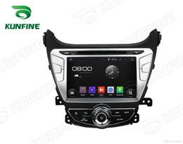 Wholesale Dvd Elantra - Octa Core 2GB RAM Android 6.0 Car DVD GPS Navigation Multimedia Player Car Stereo for Hyundai Elantra 2014 Radio Headunit Bluetooth Map