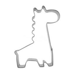 Canada Nouvelle Acier Inoxydable Mignon Drôle Durable En Acier Girafe Forme Moule Au Chocolat Gâteau Cookie Cutter Cuisine Cuisson Outils cheap cute cookie cutters Offre