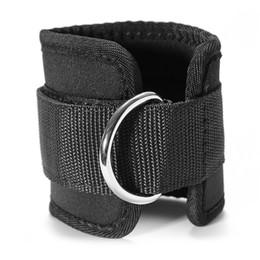 Aptitud Ajustable D-Ring tobillo correas soporte para los pies tobillo Protector Gym Pierna Piernas con Hebilla Sports Feet Guard desde fabricantes
