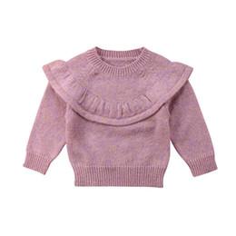 Mode Bébé Enfants Bébé Fille Tricoté En Dentelle Pull Cardigan Manteau À Manches Longues Top Outwear ? partir de fabricateur