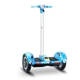 Wholesale red scooters - 2 wheels electric skateboard hover board smart balancing wheel A8 electric scooters 10 inch hover board with handbar for Kids