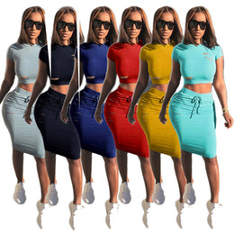 Wholesale good dress pants - Goods In Stock Fashion Sexy Holes Dress Twinset 6 Color